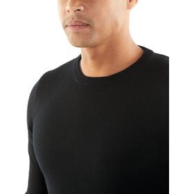 Icebreaker Quailburn Suéter de cuello redondo Hombre, black